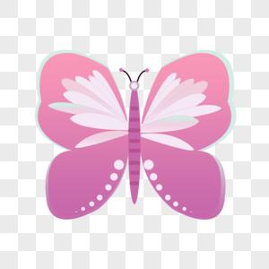 手绘蝴蝶翅膀图片