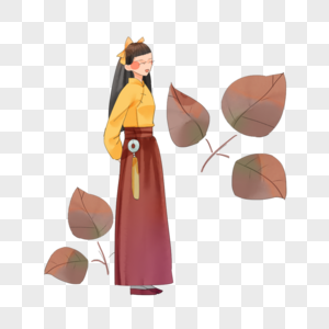 民国风裙装图片