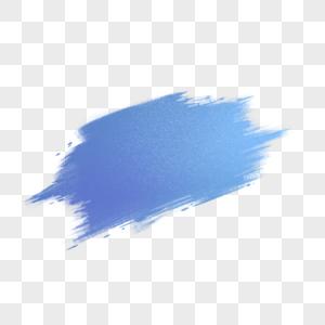 蓝色墨迹标签图片