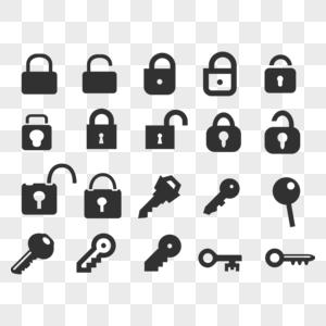 密码图标网站图标app图标个人中心图标图片