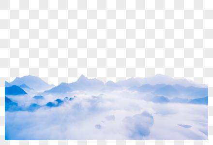 云海中图片