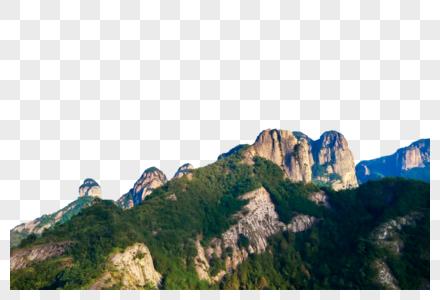 美丽的山峰图片
