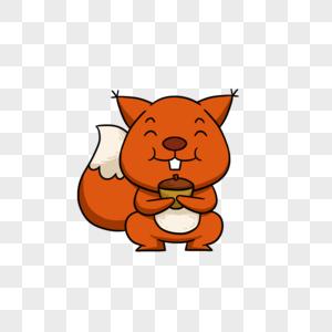 吃东西的松鼠图片