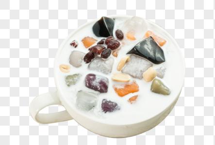 酸奶芋圆图片