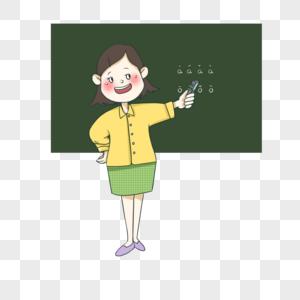 讲课老师图片
