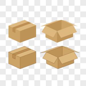 打包的纸箱图片