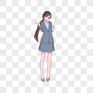 教师节老师卡通人物图片