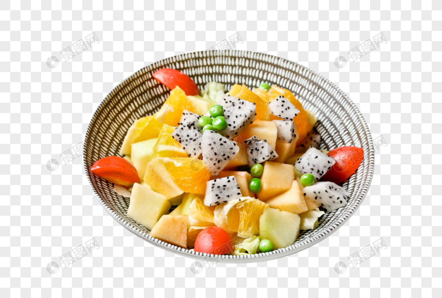 创意水果沙拉图片