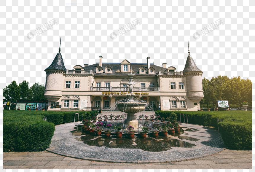 城堡建筑旅游游客接待中心图片
