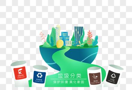 保护环境家园图片