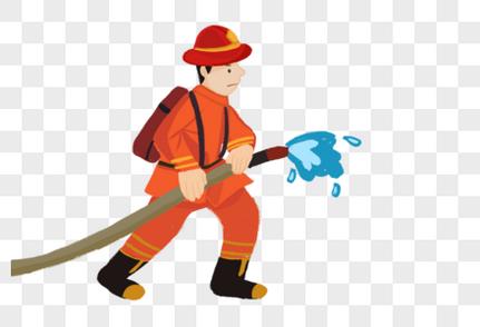安全员证书模板_消防员元素元素素材下载-正版素材400787316-摄图网