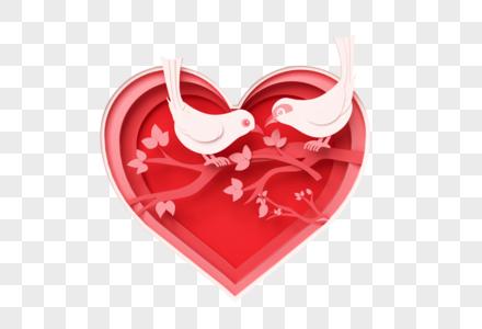 创意七夕情人节小场景图片