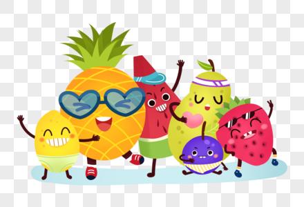 卡通可爱水果图片