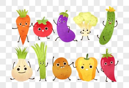 卡通手绘蔬菜图片