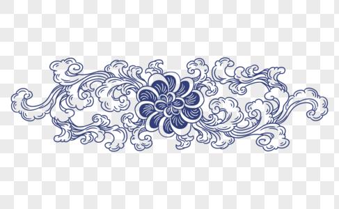 青花瓷纹样图片