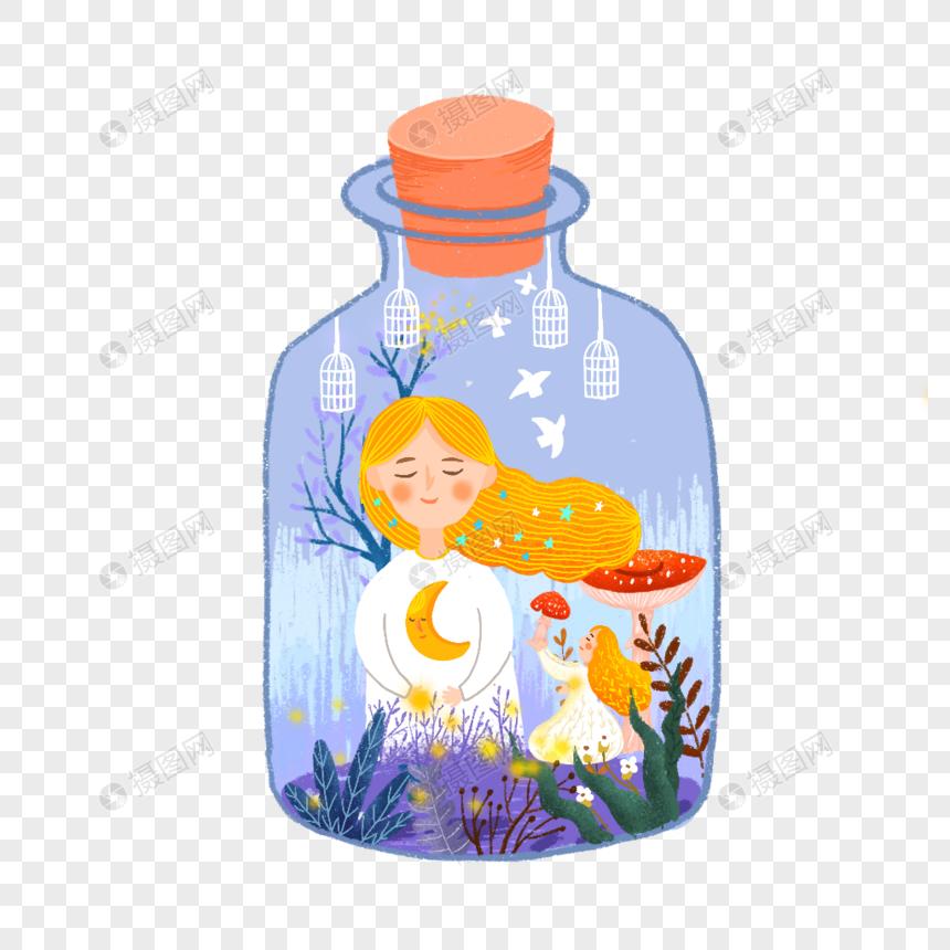 瓶中的世界图片