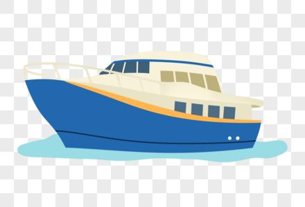 手绘轮船图片