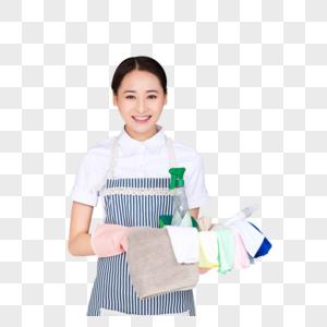 保洁服务人员图片