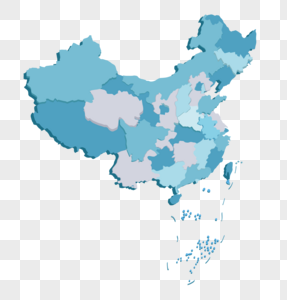 立体中国地图图片