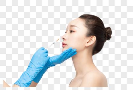 女性整容鼻子打针图片