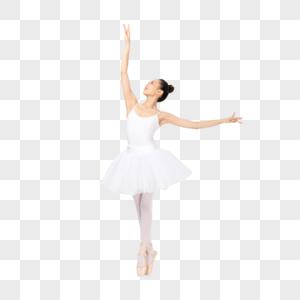 年轻美女芭蕾舞表演图片