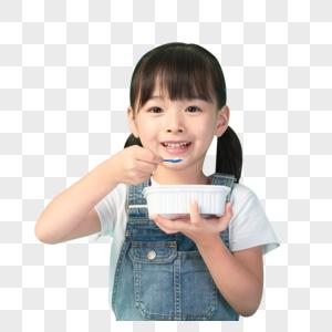 小朋友吃饭图片