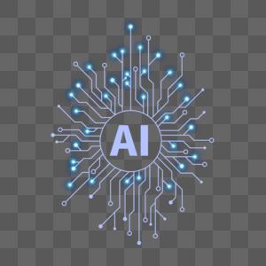 未来派AI智能图片