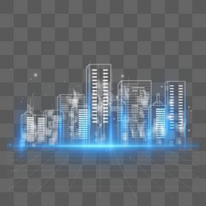 数字城市建筑图片
