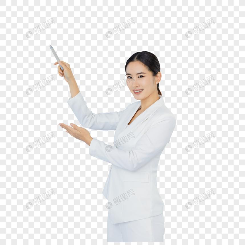 职场女性办公室会议图片