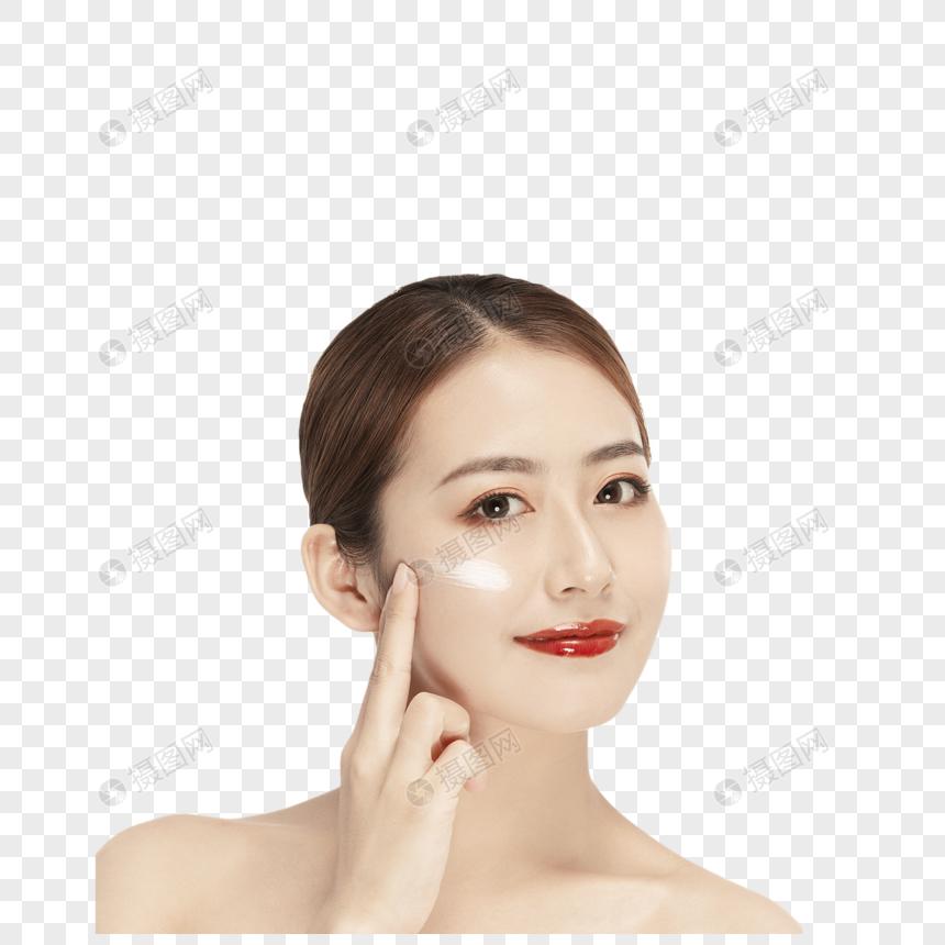 时尚美女唯美妆容图片