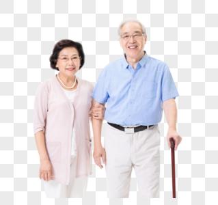 老年夫妇形象图片