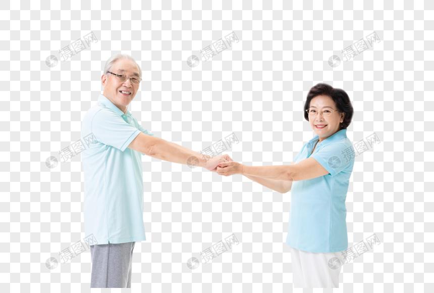 老年夫妇跳舞图片