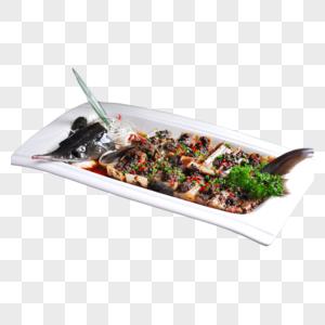 清蒸鲈鱼图片