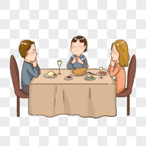 感恩节感恩父母家人图片