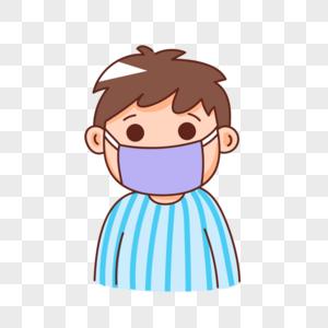 患有传染性质疾病的病人图片