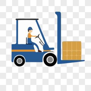 卸货车图片