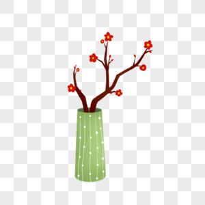 盆栽梅花图片