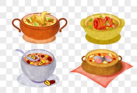 秋天养生汤图片