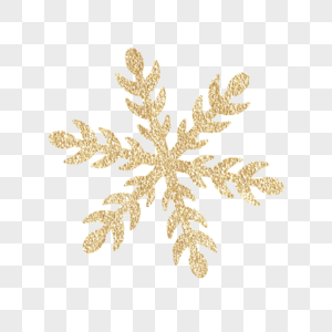 金色雪花图片