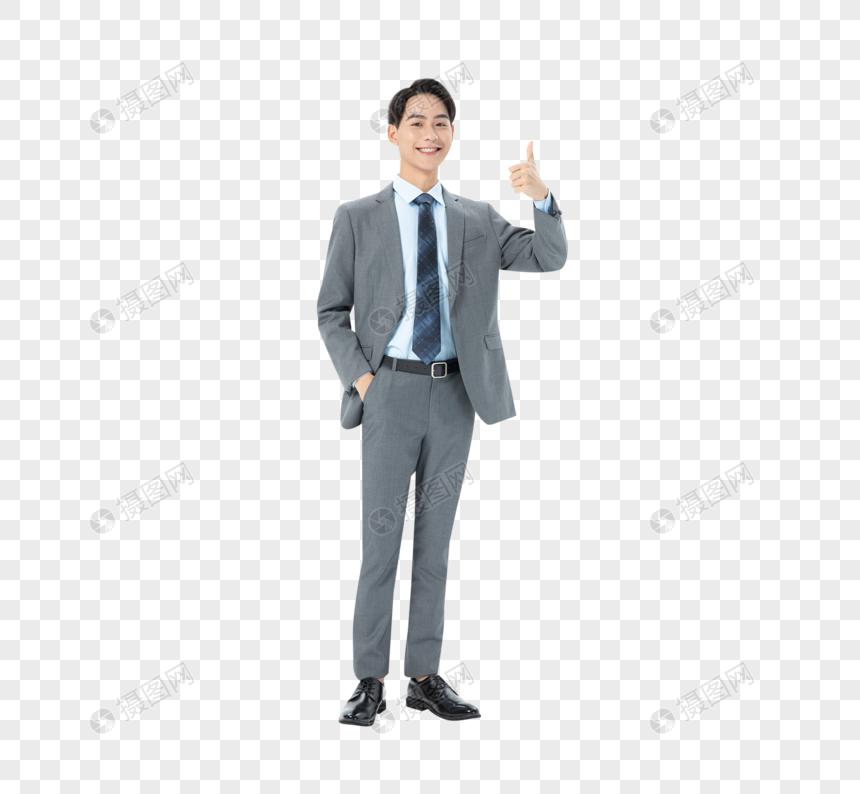商务男性点赞图片