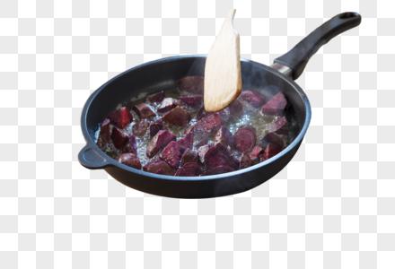 烹饪拔丝红薯图片