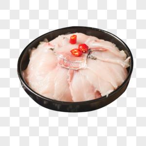 新鲜黑鱼片图片