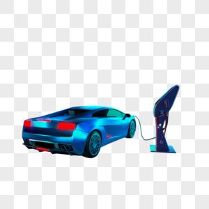 汽车充电桩图片