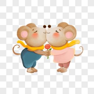 相亲相爱的老鼠图片