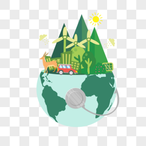 地球环保图片