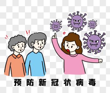 科普新冠状病毒图片