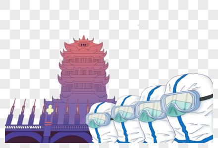 武汉加油战疫情图片