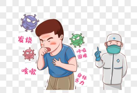 新型肺炎防护图片