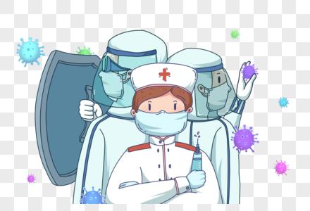 抗击疫情图片