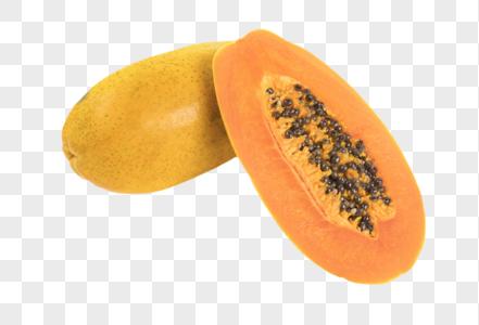木瓜新鲜水果图片